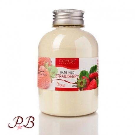 Leche de ba o fresa el paraiso del ba o - Bano de leche ...