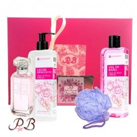 Set de ducha Agua de Rosas con Argán