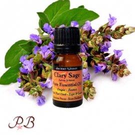 Aceite esencial de Salvia Clara