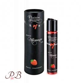 Aceite de masaje Placer Secreto de Fresa