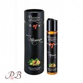 Aceite de masaje Placer Secreto de Frutos exóticos