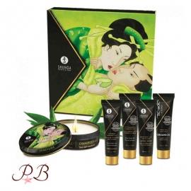 Kit de masaje Secreto de Geisha Té Verde
