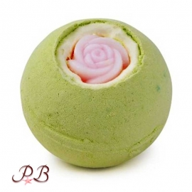 Bomba de Baño Rosa de Té Verde
