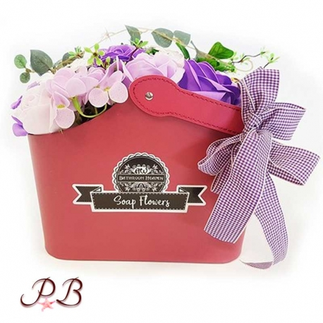 Flores de Jabón Rosas Lavanda