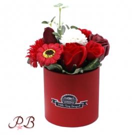 Flores de Jabón Rosas Rojas