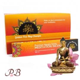 Incienso Meditación Nag Champa Oro