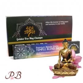 Incienso Templo Blend Nag Champa Oro