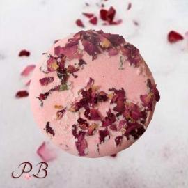 Bomba de baño Floral Rosa, Lavanda y Pachuli