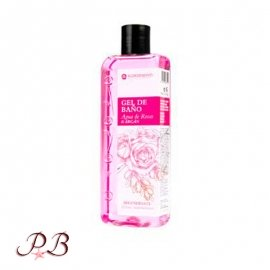 Gel de baño Natural Agua de Rosas con Argán