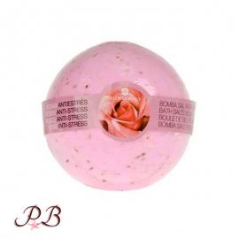 Bomba de baño de Rosa