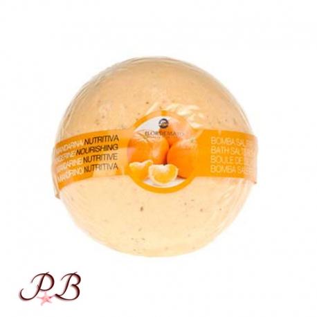 Bomba de baño de Mandarina