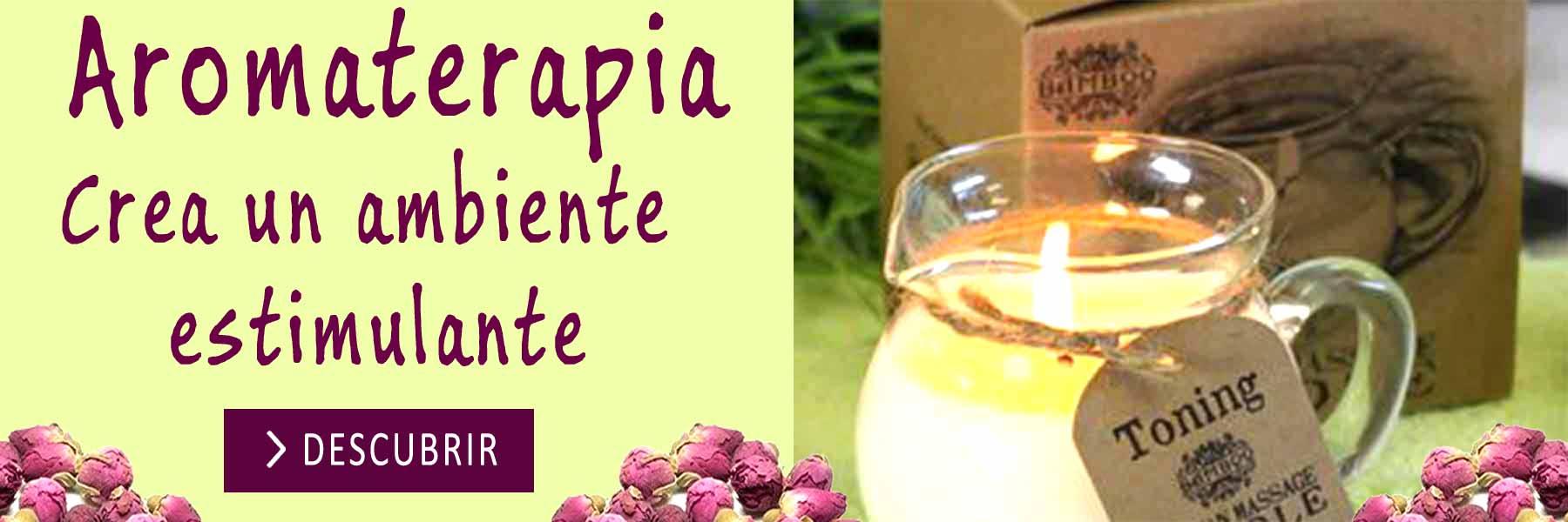 Aromaterapia, crea un ambiente Estimulante con Agradables Aromas.